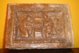15th/16th Century Glazed Fire Bricks