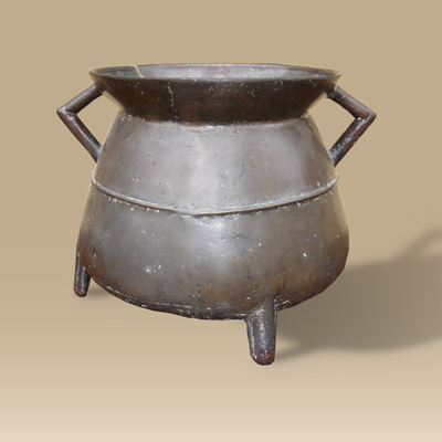 16th/17th Century Bronze Cauldron