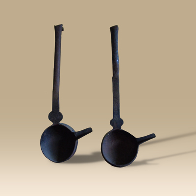 16th/17th Century Iron Smelting Ladles