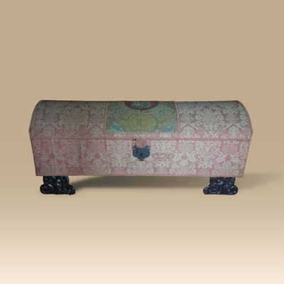 17th/18th Century Upholstered Ottoman