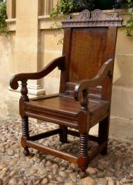17th Century and Later Oak Wainscot Chair