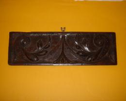 17th Century Carved Oak Panel