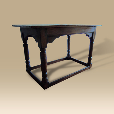 17th Century Oak Altar Table