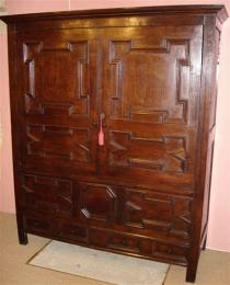 17th Century Oak Livery Cupboard