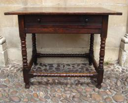 17th Century Oak Side Table