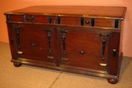 17th Century Walnut Coffer