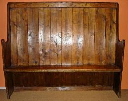 18th/19th Century High Back Settle
