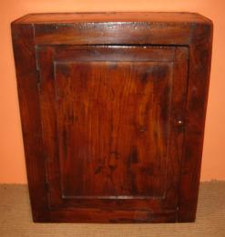 18th Century Elm Wall Cupboard
