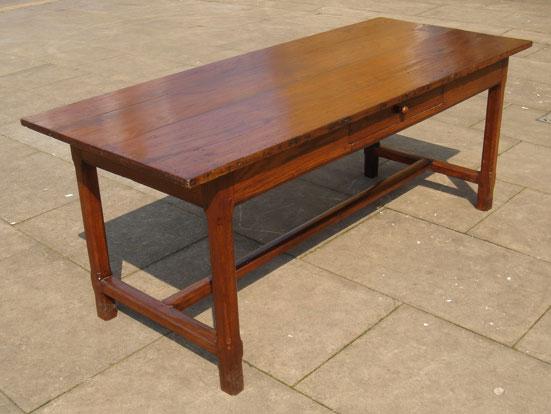 a928fb5094c1 18th Century French Oak Farmhouse Table UK - Antique Tables - Oak ...