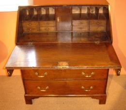 18th Century Georgian Oak Bureau