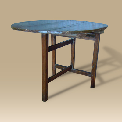 18th Century Oak Folding Coaching Table