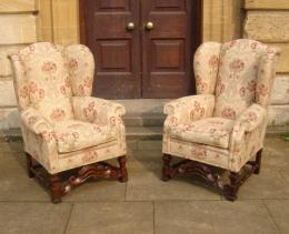 19th/20th Century Wing Chairs