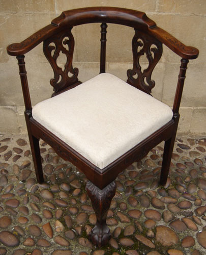 19th Century Corner Chair - 19th Century Corner Chair UK By Antique Chairs And Settees UK