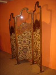 19th Century French Gilded Modesty Screen