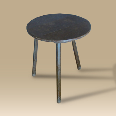 19th Century Painted Cricket Table