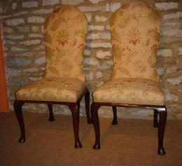 19th Century Walnut Side Chairs