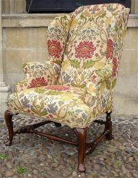 19th Century Winged Armchair
