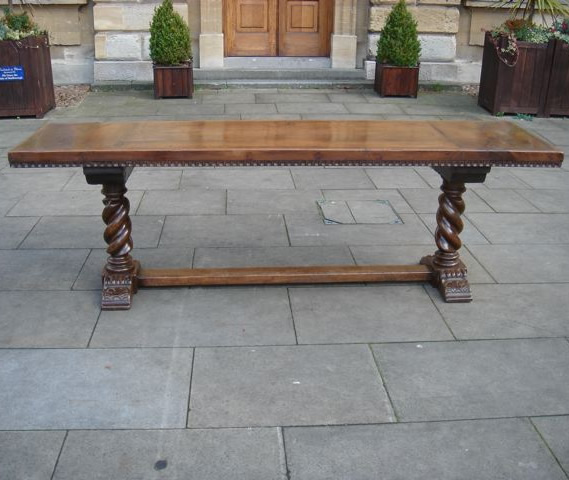 A 16th & Later Century Renaissance Walnut Table
