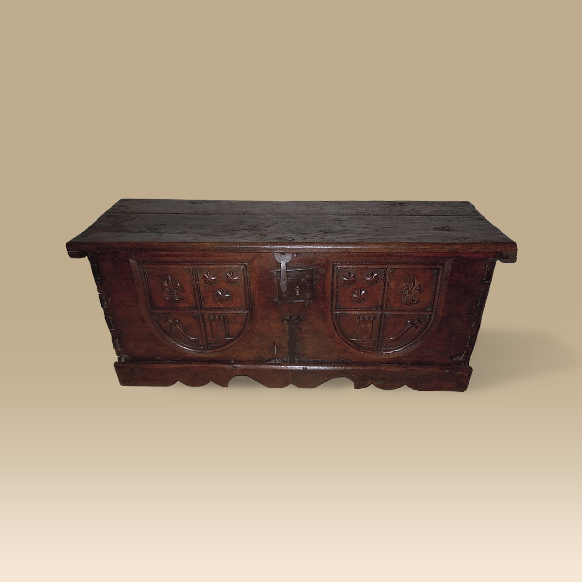 A 16th Century Oak Chest
