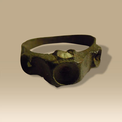 A 17th Century Bronze Ring