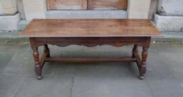 A 17th Century Low Oak Table