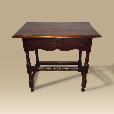 A 17th Century Oak Side Table