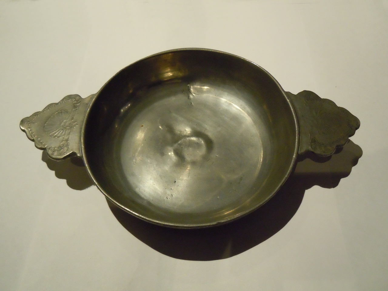 A 17th Century Pewter Porringer