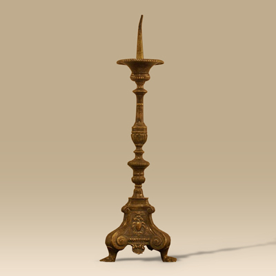 A 17th Century Pricket Candlestick