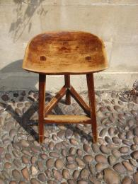 A 19th Century Three Leg Stool