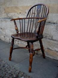 A 19th Century Windsor Armchair