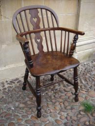 A 19th Century Windsor Chair