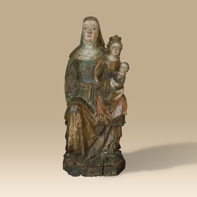A Circa 1500 Group Depicting St. Anne