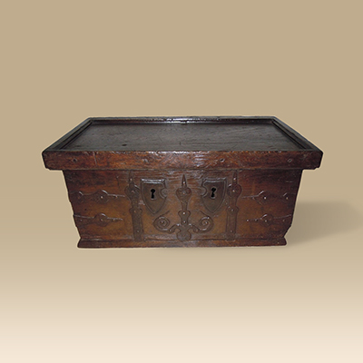 A Circa 16th Century Oak Chest