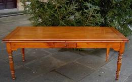 A Circa 1870 French Fruitwood Extending Table