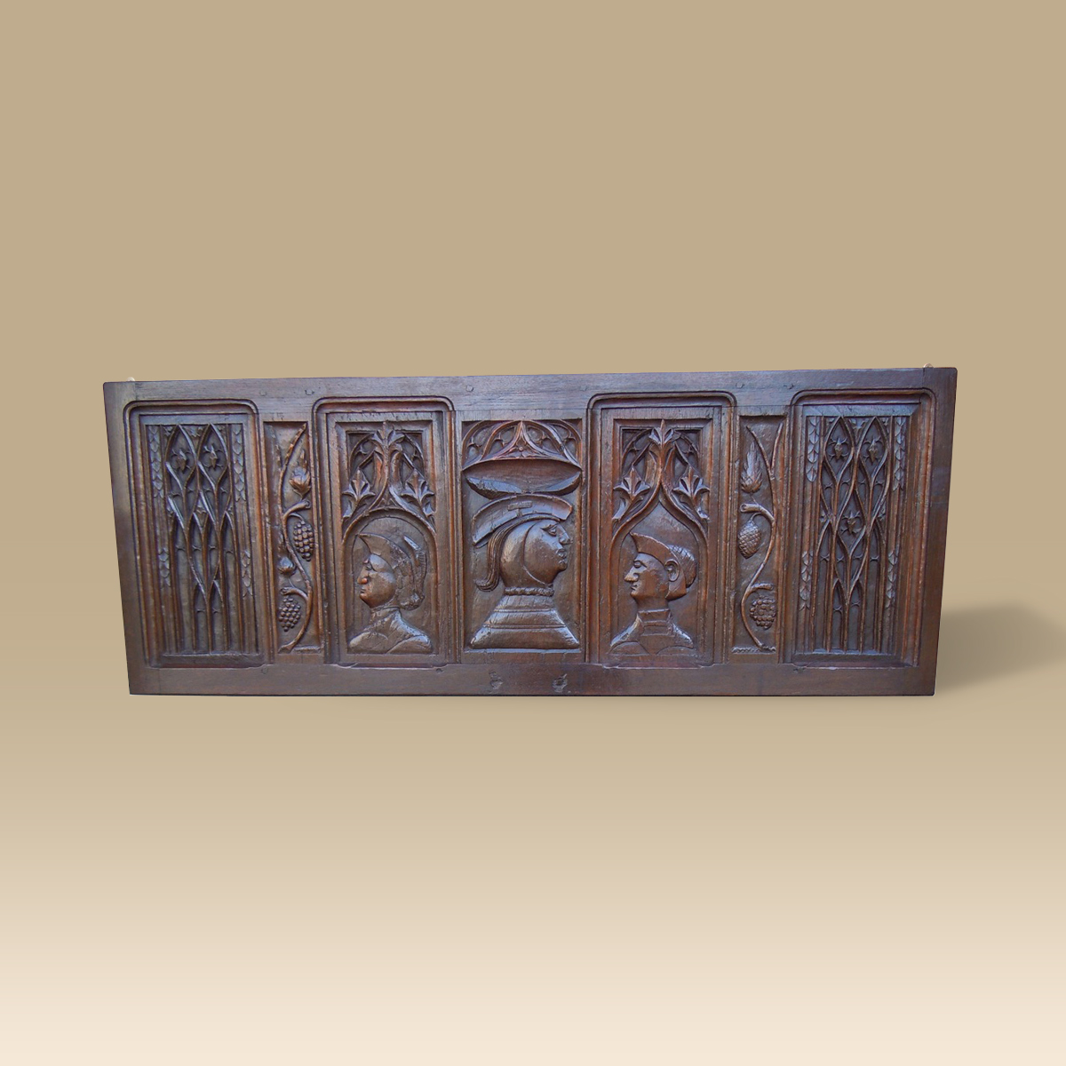 A Group Of 15th Century Oak Panels