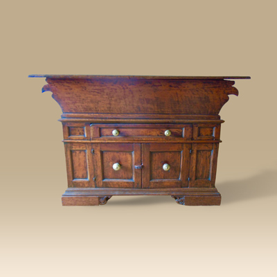 A Late 16th Early 17th Century Italian Walnut Dough Bin