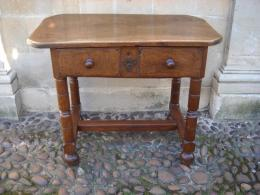 A Late 17th Century French Walnut Side Table