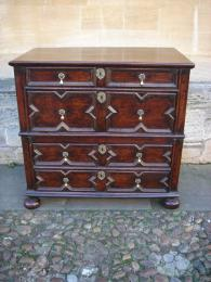 A Late 17th Century Oak Chest Of Drawers
