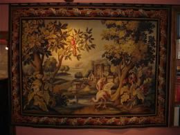 A Late 18th Century Early 19th Century Aubusson Tapestry