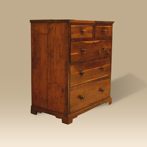 A Late 18th Century Early 19th Century Laburnum Chest Of Drawers