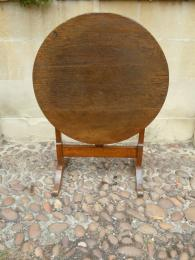 A Late 18th Century French Oak Wine Table