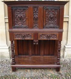 A Late 18th Century Oak Dressoir