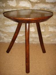 A Late 18th Early 19th Elm Century Cricket Table.