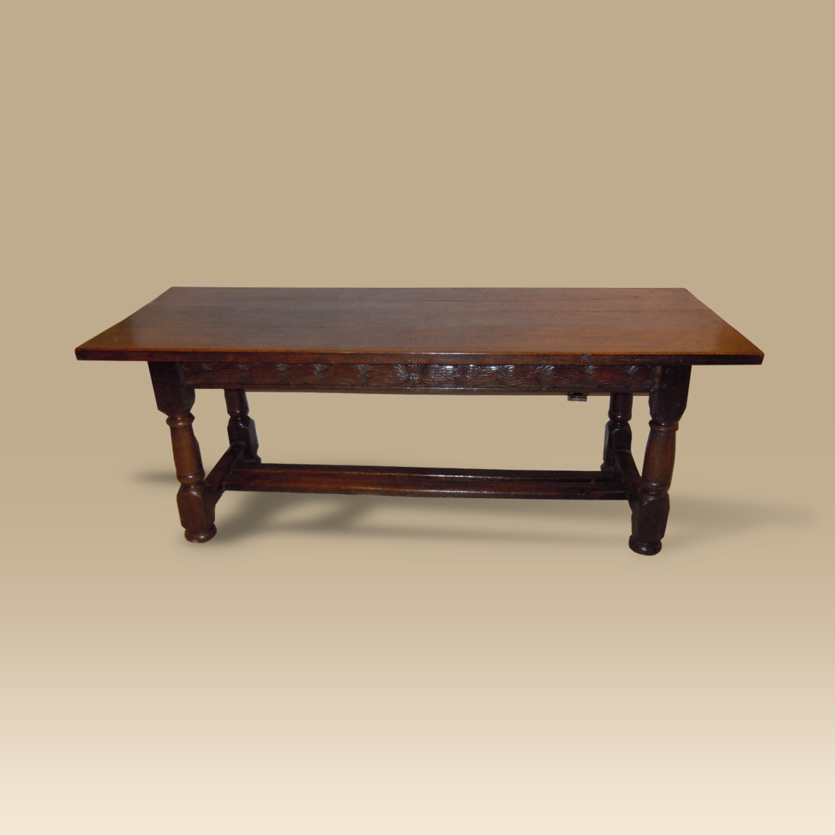 A Mid 17th Century Oak Refectory Table