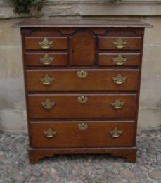 A Mid 18th Century Oak Norfolk Chest