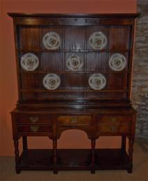 A Mid To Late 18th Century Oak Pot Board Dresser