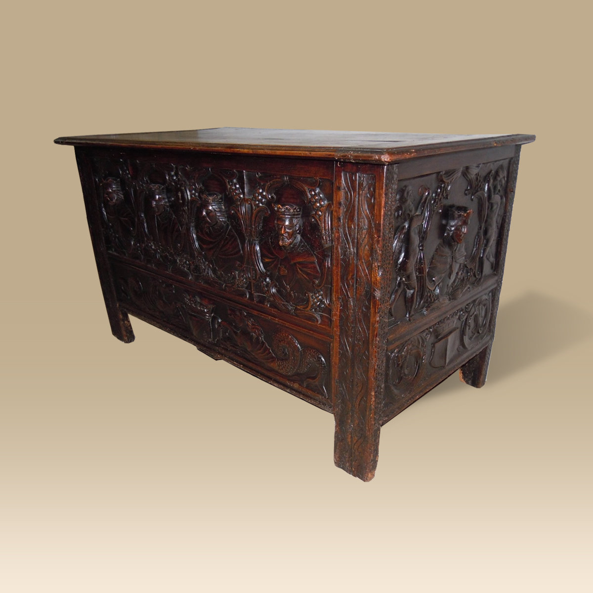 A rare 16th 17th century french chest for 17th century french cuisine