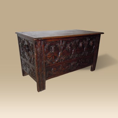 A Rare 16th/17th Century French Chest