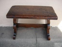 A Rare Late 16th Century Early 17th Century Walnut Stool