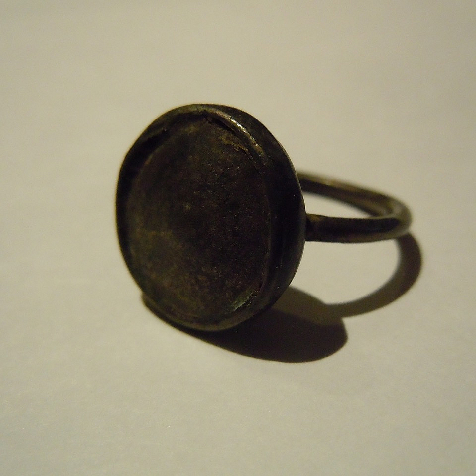 A Silver Medieval Ring.